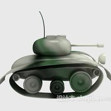 坦克玩具3d模型下载
