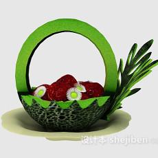 水果雕花3d模型下载