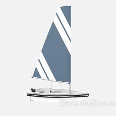 帆船游艇3d模型下载