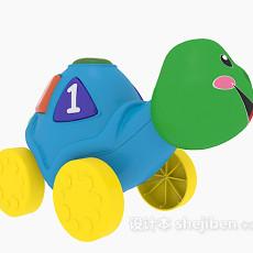 乌龟玩具3d模型下载