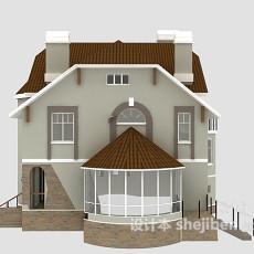 别墅3d模型下载