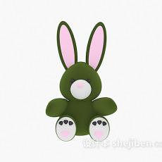 儿童玩具兔子3d模型下载