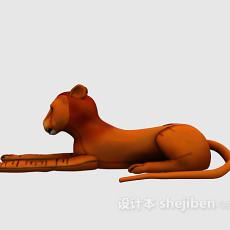 儿童玩具老虎3d模型下载