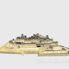 古建筑3d模型下载