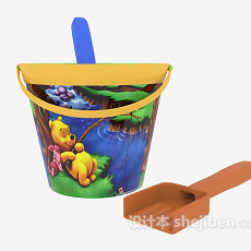 儿童沙滩玩具 3d模型下载