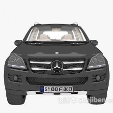 奔驰汽车3d模型下载