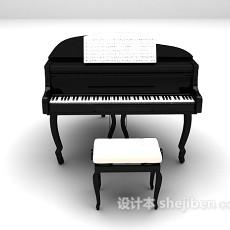 钢琴3d模型下载