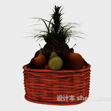 水果组合3d模型下载