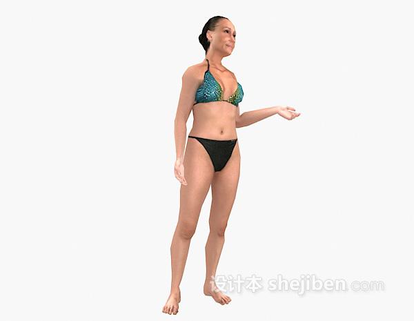 人物3d模型欣赏下载