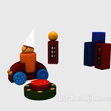 儿童益智玩具 3d模型下载