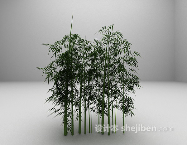 竹子3d模型下载