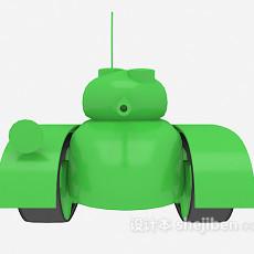 儿童玩具小坦克 3d模型下载