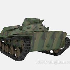 坦克3d模型下载