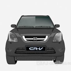 黑色的max汽车3d模型下载