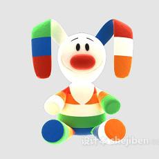 毛绒玩具3d模型下载