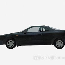 黑色汽车 车3d模型下载