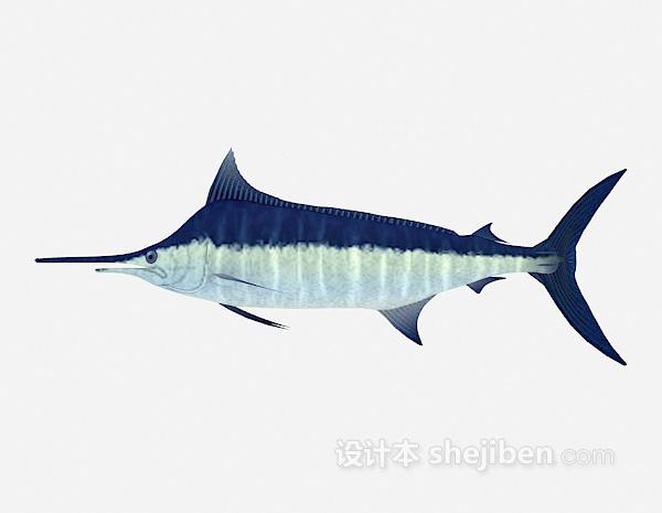 鲨鱼3d模型下载