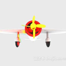 玩具飞机3d模型下载