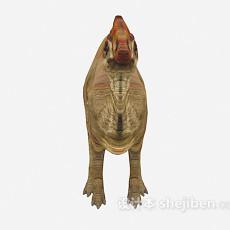 奇特恐龙3d模型下载
