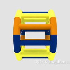 儿童玩具滚轮 3d模型下载