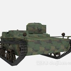 坦克轻型3d模型下载