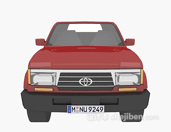 欧式车辆模型 3d模型下载