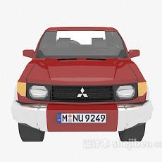 红色的车辆3d模型下载