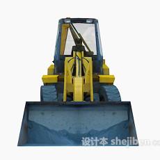 挖掘机3d模型下载