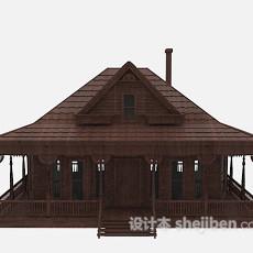 中式古建筑3d模型下载