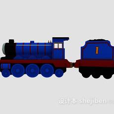 儿童玩具蒸汽火车 3d模型下载