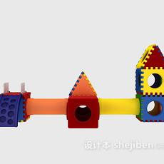 儿童玩具组合 3d模型下载