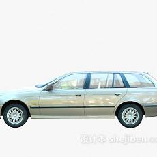 银色汽车 车3d模型下载