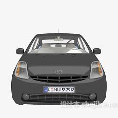 黑色小车汽车3d模型下载