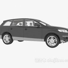 黑色奥迪车辆3d模型下载