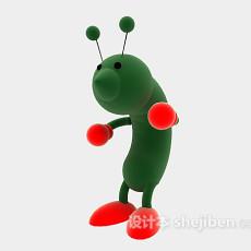 蚂蚁玩具3d模型下载