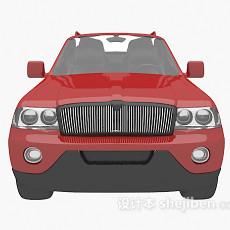 红色车欣赏3d模型下载