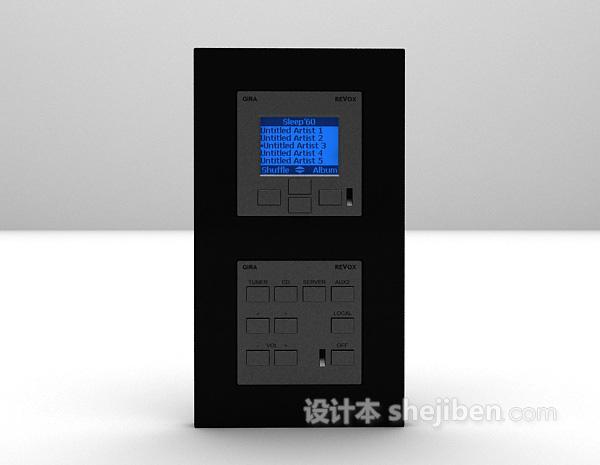 电子仪器3d模型下载