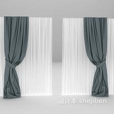 窗帘max3d模型下载