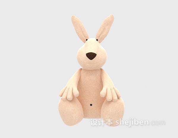 儿童玩具袋鼠模型 3d模型下载