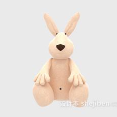 儿童玩具袋鼠 3d模型下载