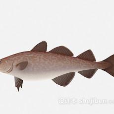 红色的鱼3d模型下载