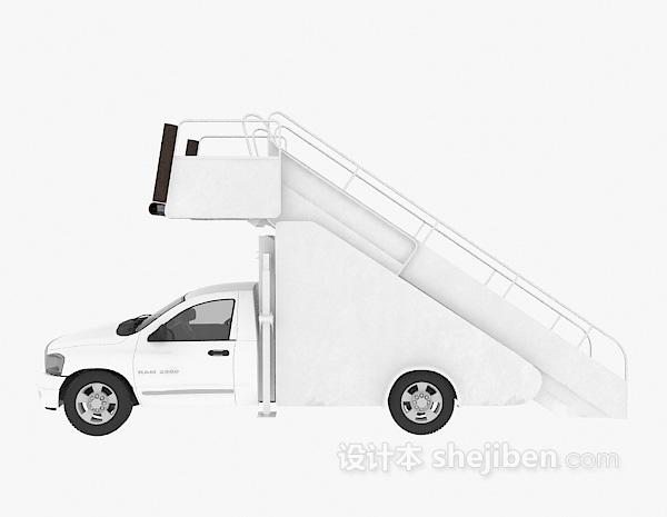 楼梯汽车模型3d模型下载