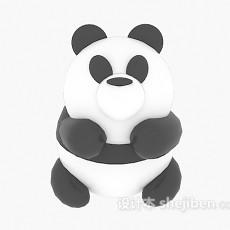 熊猫儿童玩具 3d模型下载