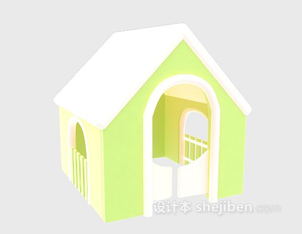 狗屋3d模型下载