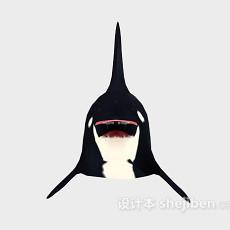 大鲨鱼3d模型下载