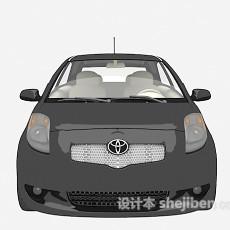 黑色小车汽车免费3d模型下载