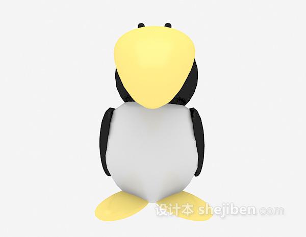 小鸟玩具3d模型下载