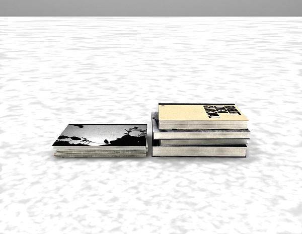 书模3d模型下载