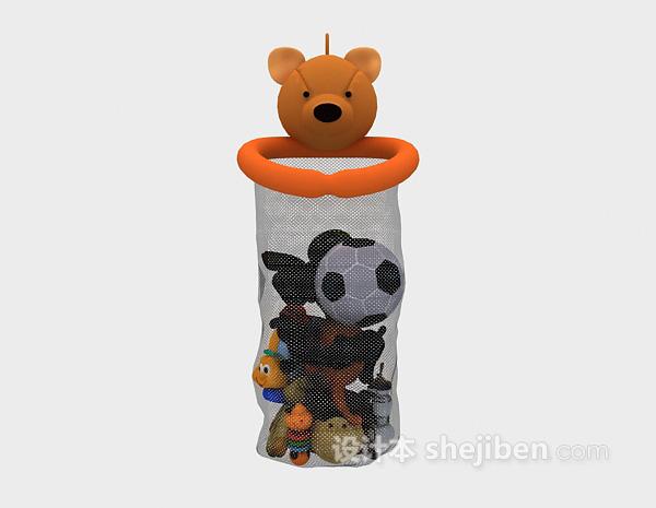 儿童模型玩具篮子3d模型下载