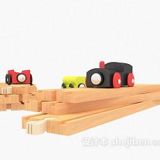 儿童玩具火车3d模型下载